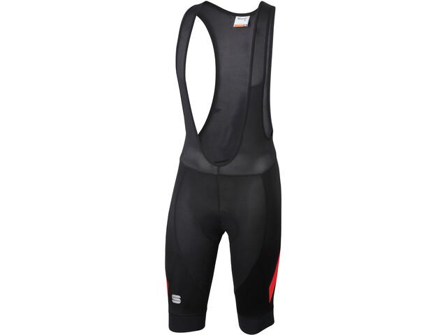 Sportful Neo Bib Shorts Herren black/red